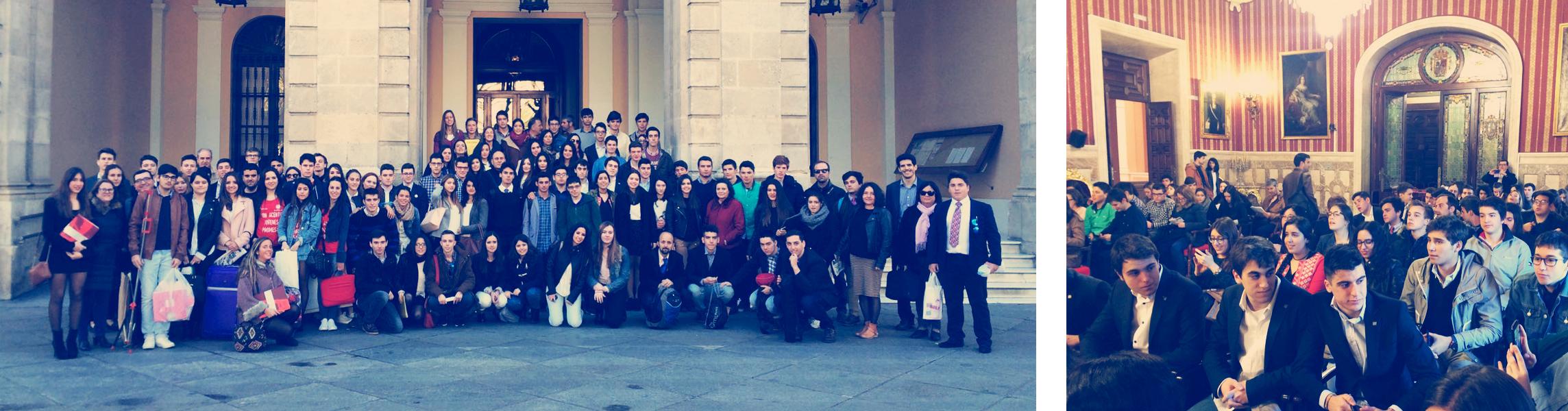Nuestro equipo en la fase final del Torneo de Debate Jóvenes Promesas