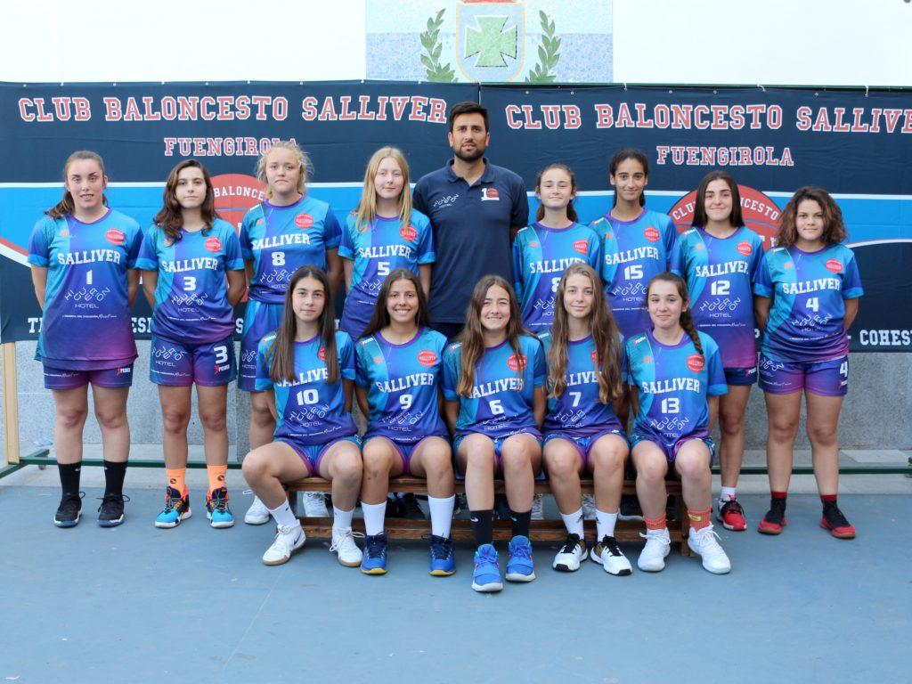 equipo cb salliver 09 cadete femenino