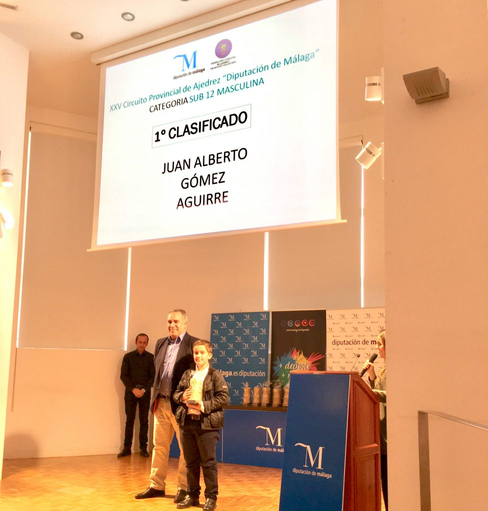 Campeón categoría Diputación Málaga