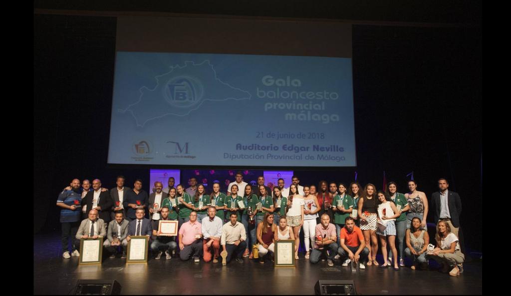 Gala del Baloncesto Provincial Málaga 2018