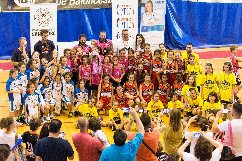 Final Four Minibasket Femenino Oro