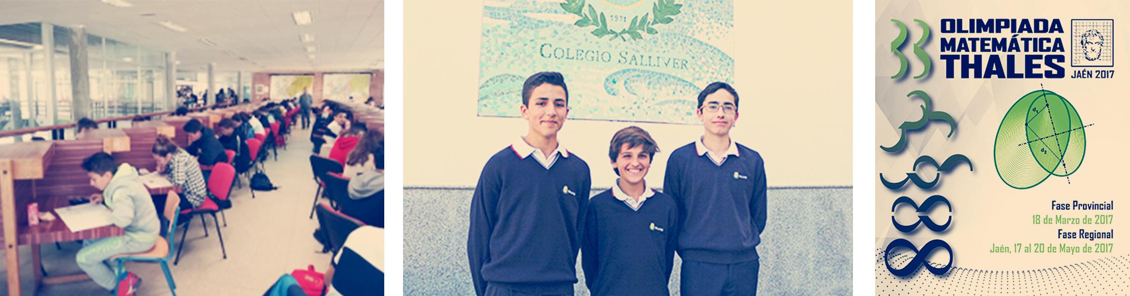 Finalistas de la fase provincial de la Olimpiada Matemática Thales