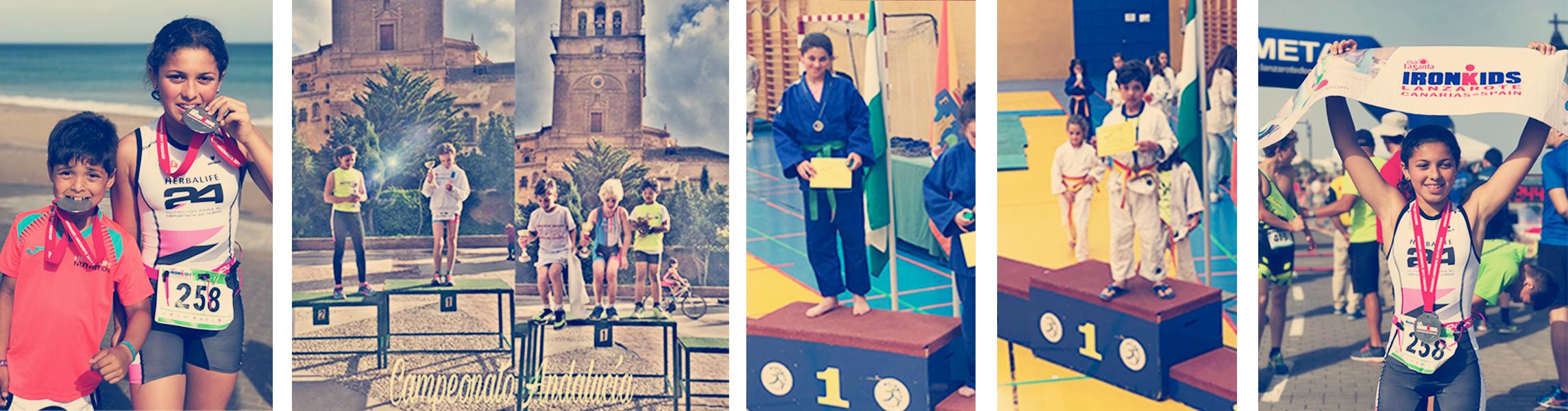 Éxitos deportivos para los hermanos Herrera