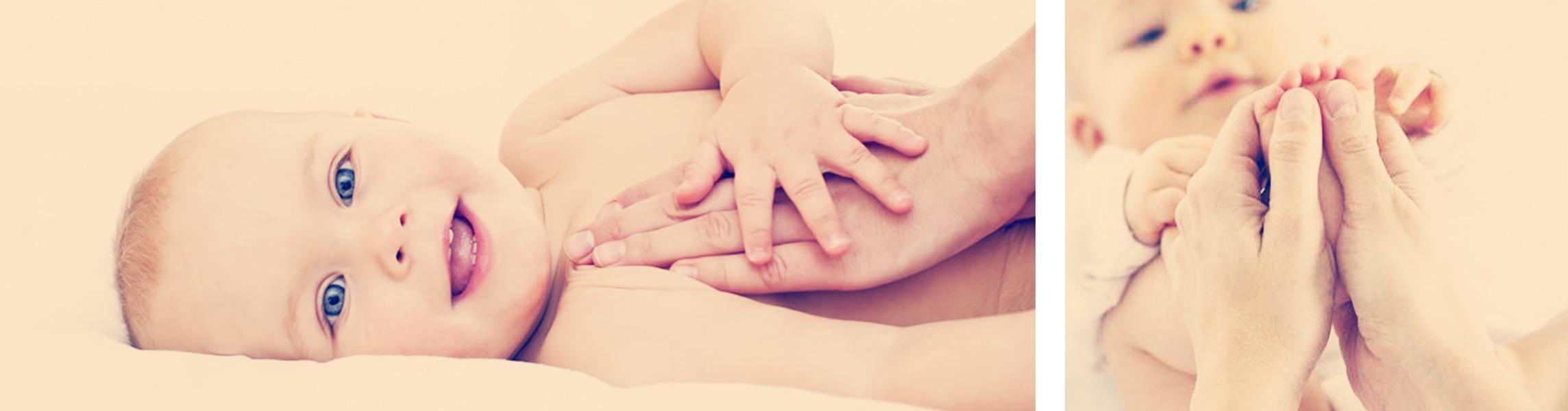 Qué beneficios tiene el masaje infantil para bebés