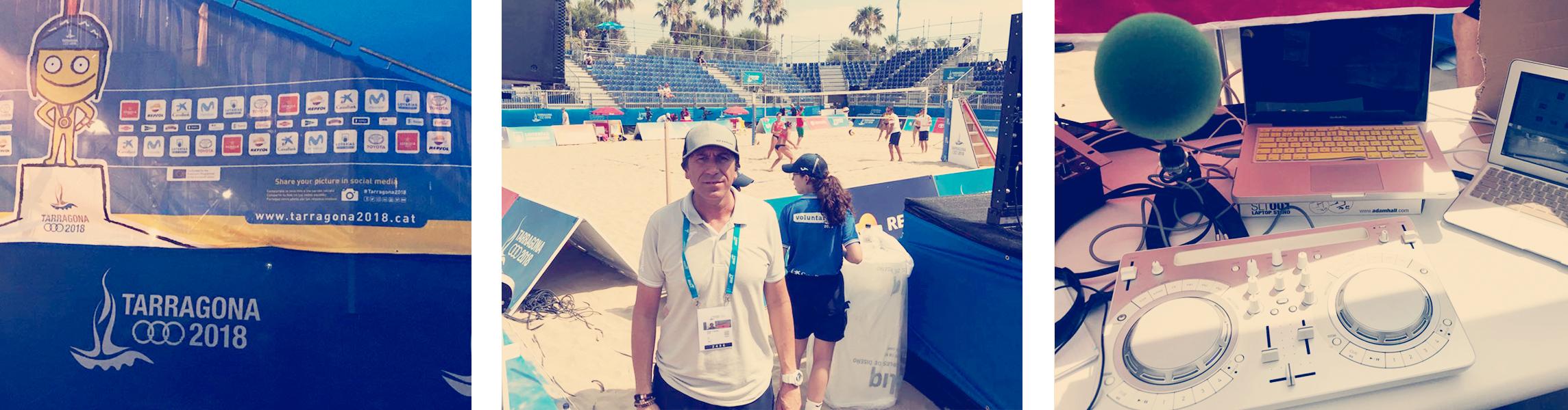 Transmitiendo desde los Juegos MediterráneosTarragona 2018